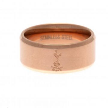 Tottenham Hotspur Rose Gold Plated Ring -  Small